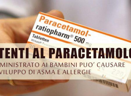Paracetamolo? Può provocare Asma e Allergia nei bambini