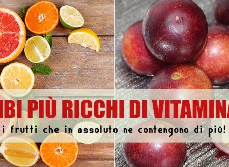 Le 4 migliori fonti di vitamina C