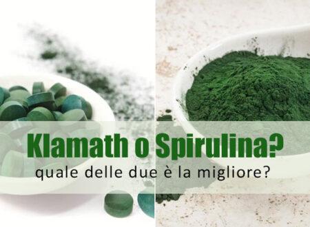 Klamath e Spirulina: le due alghe a confronto. Che differenza c'è? Chi delle due è la migliore?